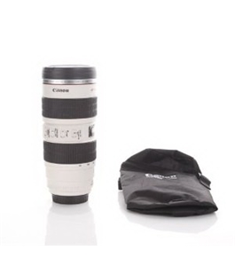 Uniqstore Camera Lens Mug/lens Coffee Cup(creative Cup Design Is Simulation to Canon EOS Camera Len Mug Coffee Cup Ef70-200mm Stainless Steel Button Switchable)