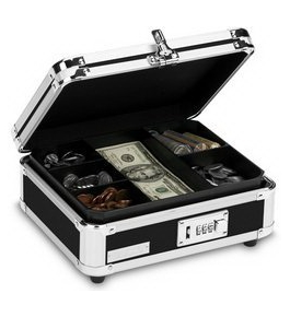 Vaultz(R) - Vaultz(R) Locking Cash Box (Cases of 4 items)