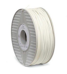 ABS Filament 3mm 1kg Reel ? White,Minimum Qty. 3 - 55007
