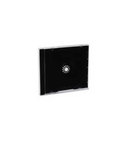 Verbatim CD/DVD Black Jewel Cases - 200pk (bulk),Minimum Qty. 1 - 94867