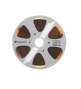 Verbatim Digital Movie DVD+R,Minimum Qty. 6 - 96857