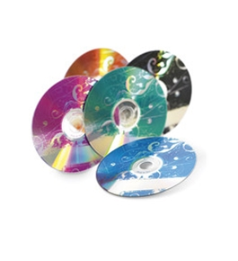 Verbatim DVD-R 4.7GB 16X Kaleidoscope Series - 20pk Spindle, Assorted, Pack of 20, Minimum Qty. 6 - 97503