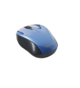 Verbatim Wireless Nano Notebook Optical Mouse - Blue,Minimum Qty. 4 - 97668
