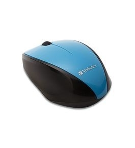 Verbatim Wireless Notebook Multi-Trac Blue LED Mouse - Blue,Minimum Qty. 4 - 97993