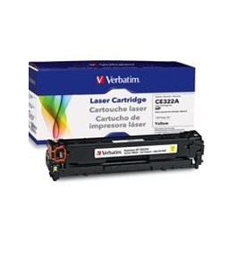HP CE322A Yellow Remanufactured Laser Toner Cartridge,Minimum Qty. 4 - 98334