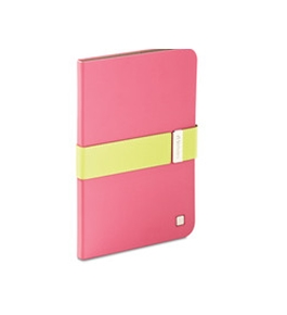 Verbatim Folio Signature Case for iPad mini (1,2,3) - Pink/Lime Green,Minimum Qty. 6 - 98418