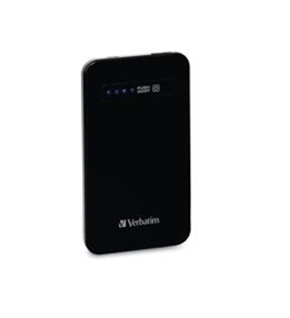 Verbatim Ultra-Slim Power Pack, 4200mAh - Black,Minimum Qty. 6 - 98450