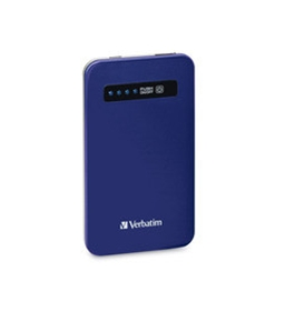 Verbatim Ultra-Slim Power Pack, 4200mAh - Cobalt Blue,Minimum Qty. 6 - 98455