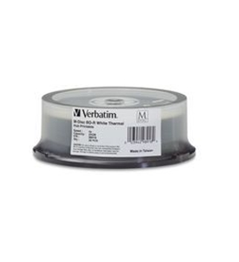 M-Disc BD-R 25GB 4X White Thermal Printable, Hub Printable ? 25pk Spindle,Minimum Qty. 6 - 98918