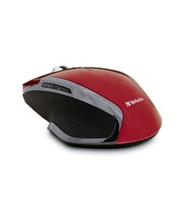Verbatim Wireless Notebook 6-Button Deluxe Blue LED Mouse ? Red,Minimum Qty. 4 - 99018