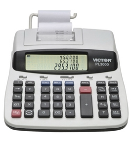 Victor PL3000 Professional Calculator with Prompt Logic