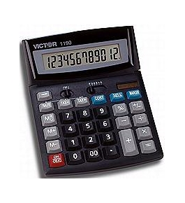 Victor Model 1190 Handheld Calculator