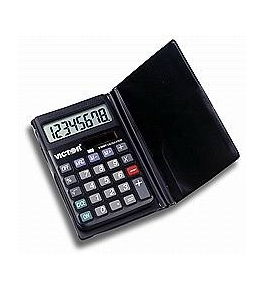 Victor Model 908 Handheld Solar with Wallet Calculator