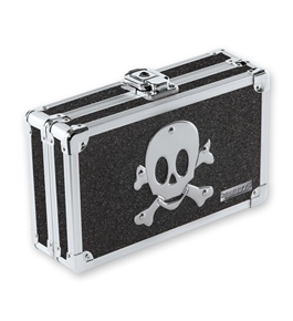 Pencil Box Black Bling w/Skull - Black Bling - Vaultz - VZ00128