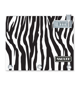 Locking Binder Pouch -Zebra - Vaultz - VZ00478