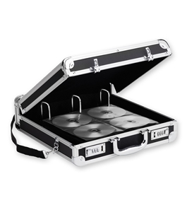 Vaultz Locking VZ01076-2 Media Binder - 200 Capacity