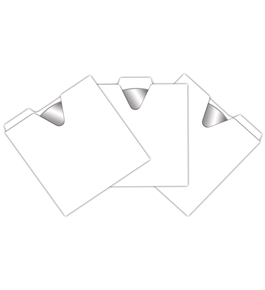 Vaultz Locking VZ01095 CD File Folders 50 Pack
