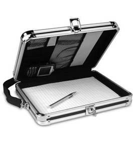 Vaultz Locking VZ01391 Storage Clipboard with Key Lock