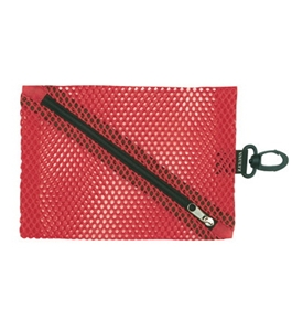 Vaultz Locking VZ01495 Mesh Coin Bags- Large- Red