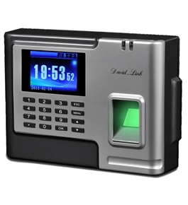 David-Link W-1288 Biometric and Proximity Time and Attendance System with Back-up Battery - TFT LCD Display