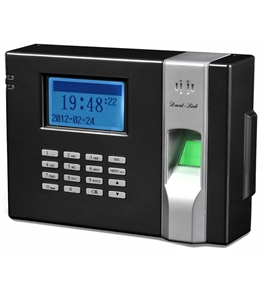 David-Link W-988 Biometric Time and Attendance System - Blue Backlight