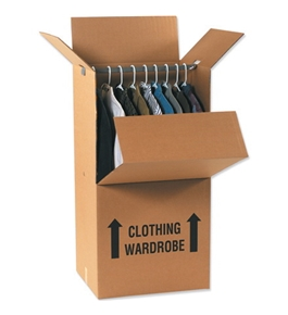 Wardrobe Box Combo Pack (1 Each Per Case)