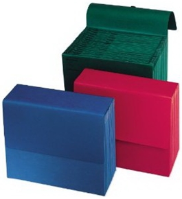 Wilson Jones ColorLife Expanding Wallet Files, 3.5 Inch Expansion, 5-Pack, Assorted Colors, (W23339)