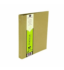 Wilson Jones Resource 3-Ring Recycled Binder, 1 Inch Capacity, Kraft (W31501)