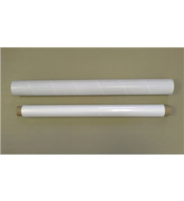 Wizard Wall 28'' System Refill Roll - Jumbo WHITE - 40 ft Long