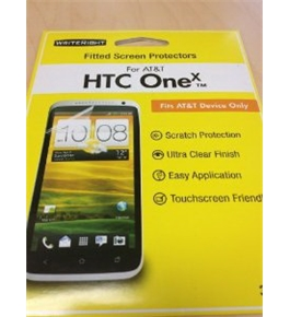 Writeright Fitted Screen Protectors for HTC ONE X ATT Only