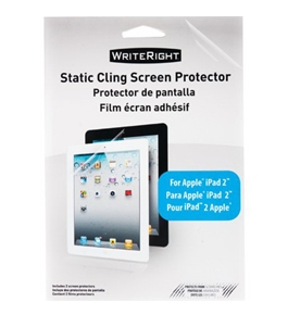 WriteRight Screen Protectors for The new iPad 3G/iPad 2, 2 Pack (9227801)