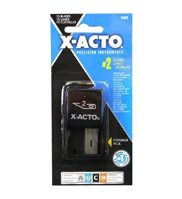 X-ACTO #2 Dispenser, Large, Fine Point Blade (X402)