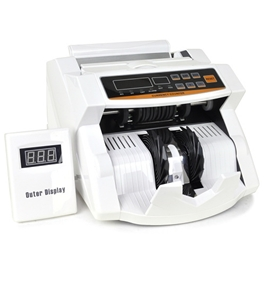 XD-915 w/LED Display & Euro Plug - Accurate Counts W Ultraviolet Counterfeit Detection