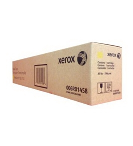 XEROX OEM TONER FOR WORKCNTR 7120 - 1 STANDARD YIELD YELLOW TONER (6R01458) -