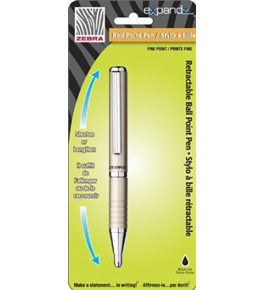 Zebra Expandz Slide Ballpoint Pen, 0.7mm, Assorted, 1 Pack (24551)