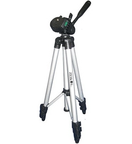 Zeikos ZE-TR26A 50-Inch Photo/Video Travel Tripod Includes Deluxe Tripod Carrying Case for Use with Digital Cameras and Camcorders