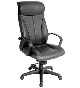 ZYCO VINYL HIGH BACK VE6200 FABRIC EXECUTIVE CHAIR