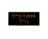 Garvey ADA and Contemporary Signs 098040 Employees Only