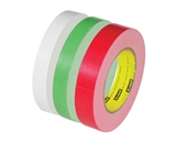 1/2- x 60 yds. White 3M - 256 Flatback Tape (72 Per Case)