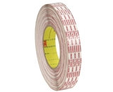 1- x 540 yds. 3M - 476XL Double Sided Extended Liner Tape (6 Per Case)