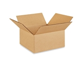 10- x 10- x 5- Flat Corrugated Boxes (Bundle of 25)
