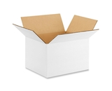 10- x 8- x 6- White Corrugated Boxes (Bundle of 25)