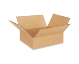 11- x 11- x 3- Flat Corrugated Boxes (Bundle of 25)