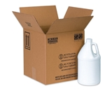 12 1/16- x 12 1/16- x 12 3/4- 4 - 1 Gallon Plastic Jug Haz Mat Boxes (20 Each Per Bundle)
