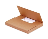 12 1/2- x 12 1/2- x 2 1/2- Kraft Easy-Fold Mailers (50 Each Per Bundle)