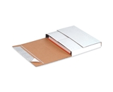 12 1/8- x 9 1/8- x 2- Deluxe Easy-Fold Mailers (25 Each Per Bundle)