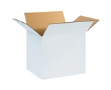 12- x 10- x 10- White Corrugated Boxes (Bundle of 25)