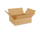12- x 10- x 3- Flat Corrugated Boxes (Bundle of 25)