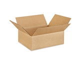 12- x 10- x 4- Flat Corrugated Boxes (Bundle of 25)