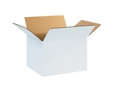 12- x 10- x 8- White Corrugated Boxes (Bundle of 25)